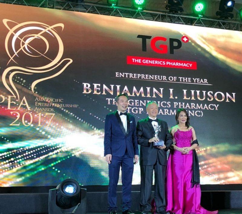 Benjamin Liuson aces the Entrepreneur of the Year Award from APEA