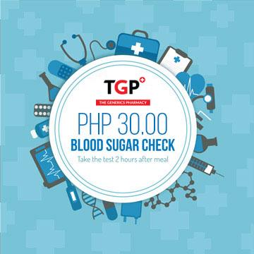 blood sugar check up