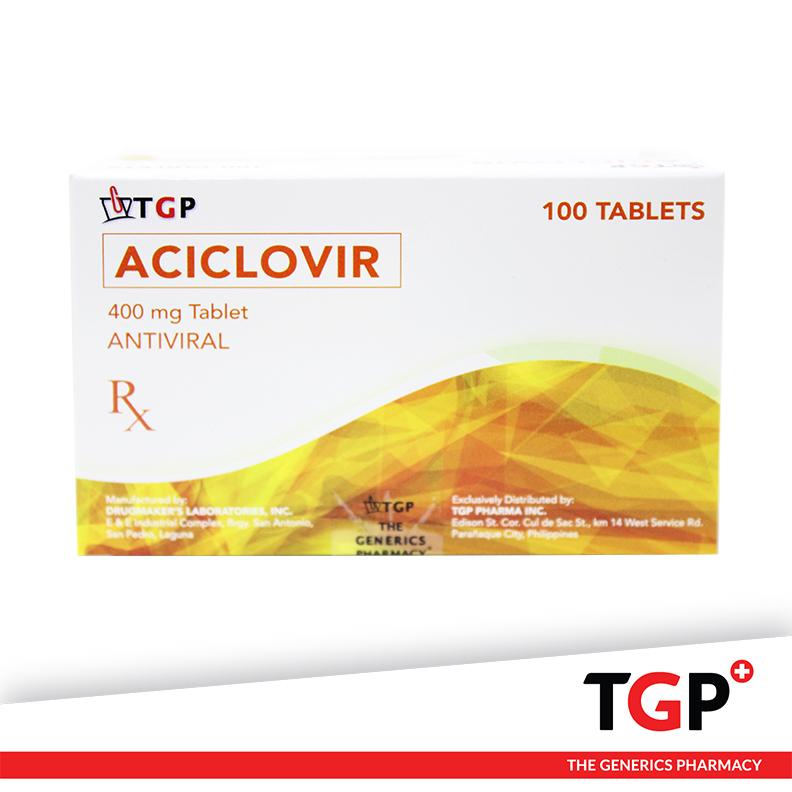Aciclovir Tab 400mg (TGP)-100