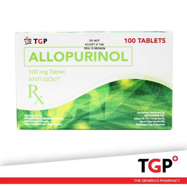 Allopurinol Tab 100mg (TGP)-100