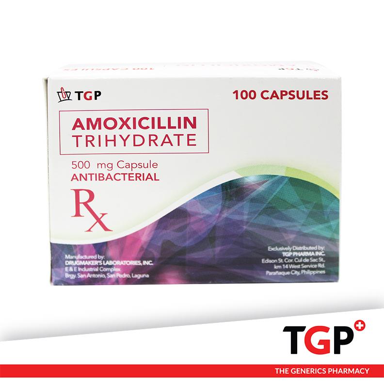 Amoxicillin Cap 500mg (TGP)-100
