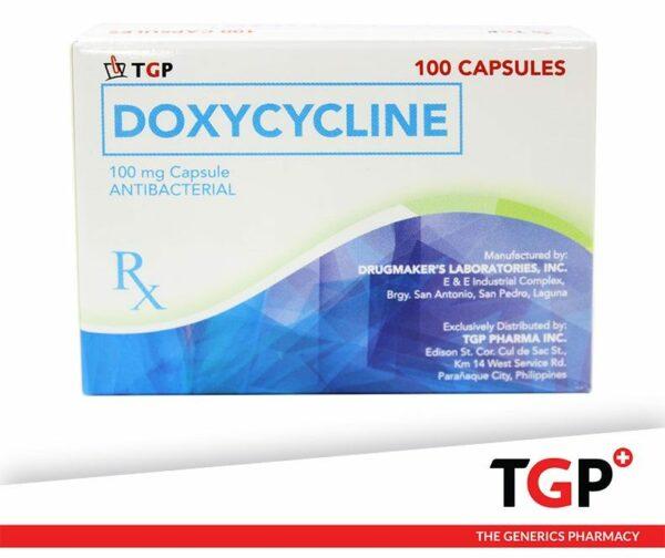 Doxycycline Cap 100mg (TGP DBRL)-100