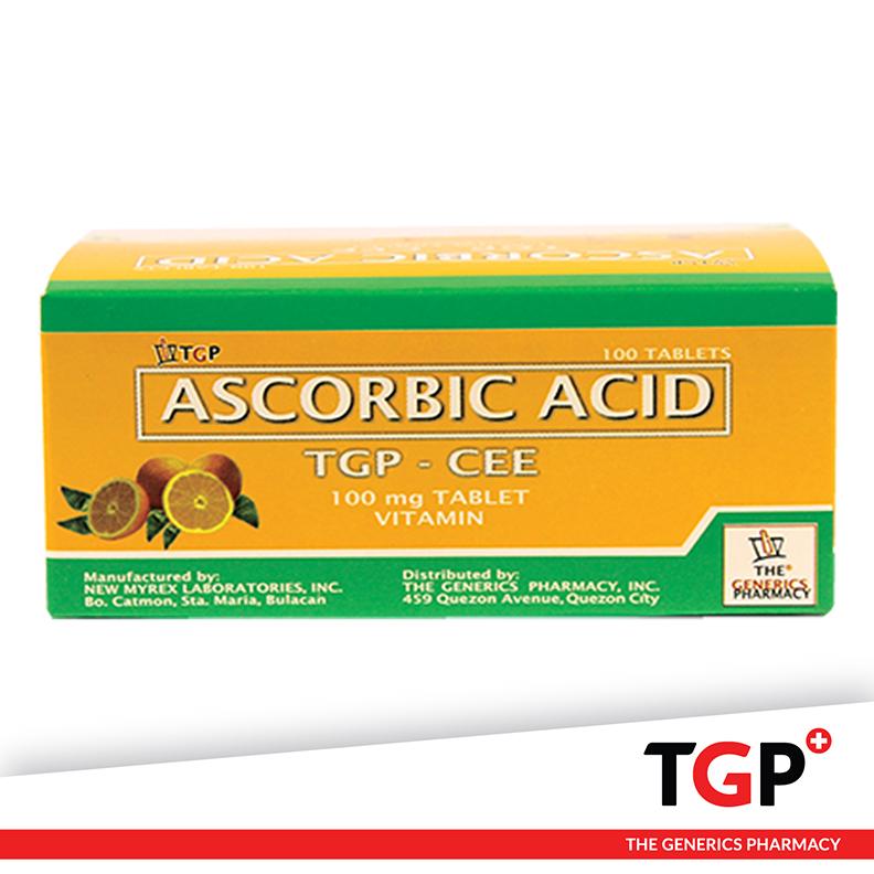 Ascorbic Acid Tablets Philippines (TGP-CEE) 100mg 100pcs