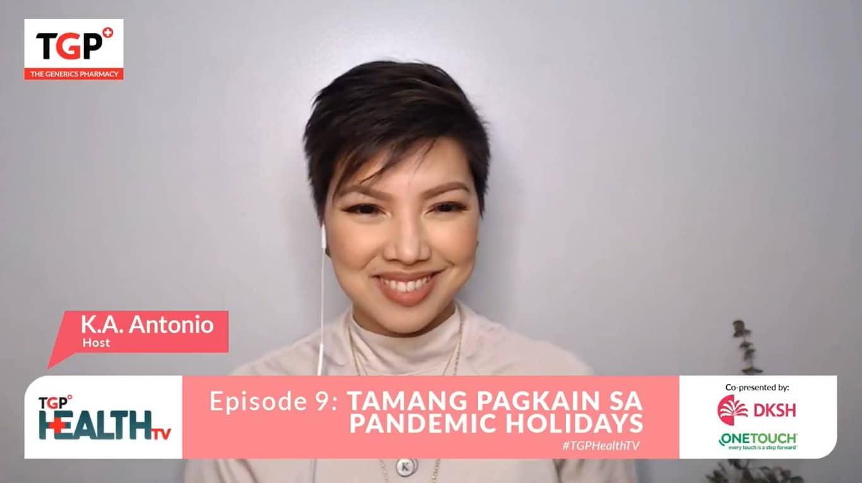 Episode 9: Tamang Pagkain sa Pandemic Holidays