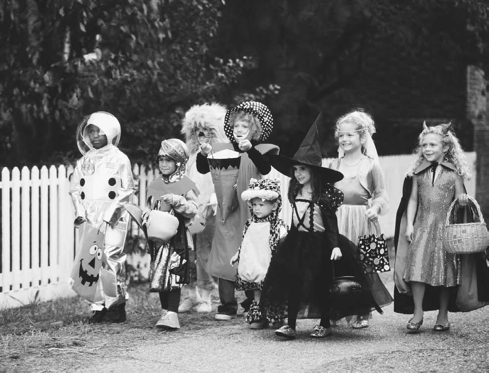 Children Halloween Trick or Treat