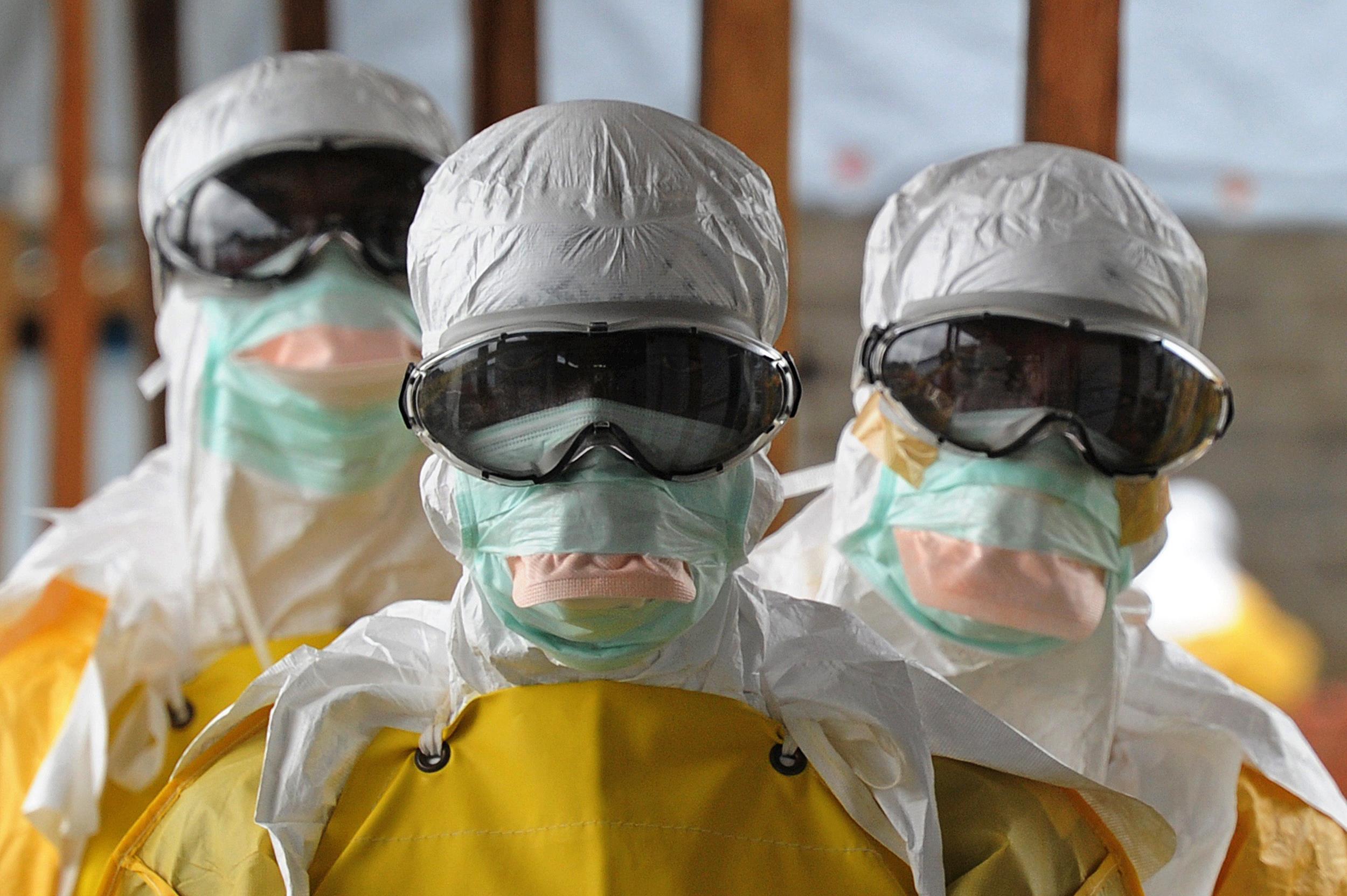 Ebola Medical team