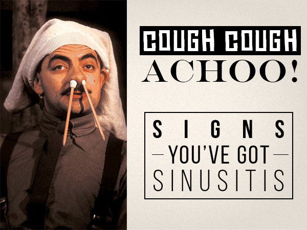 Medicine For Cough and Cold - Signs Of Sinusitis