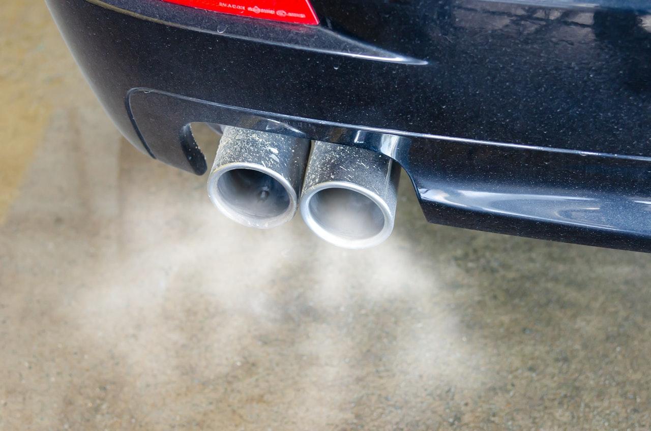 Car Muffler Smoke Pollution