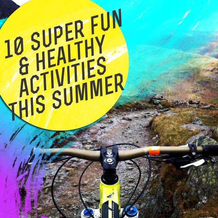 TGP - 10 Fun & Healthy Activities This Summer