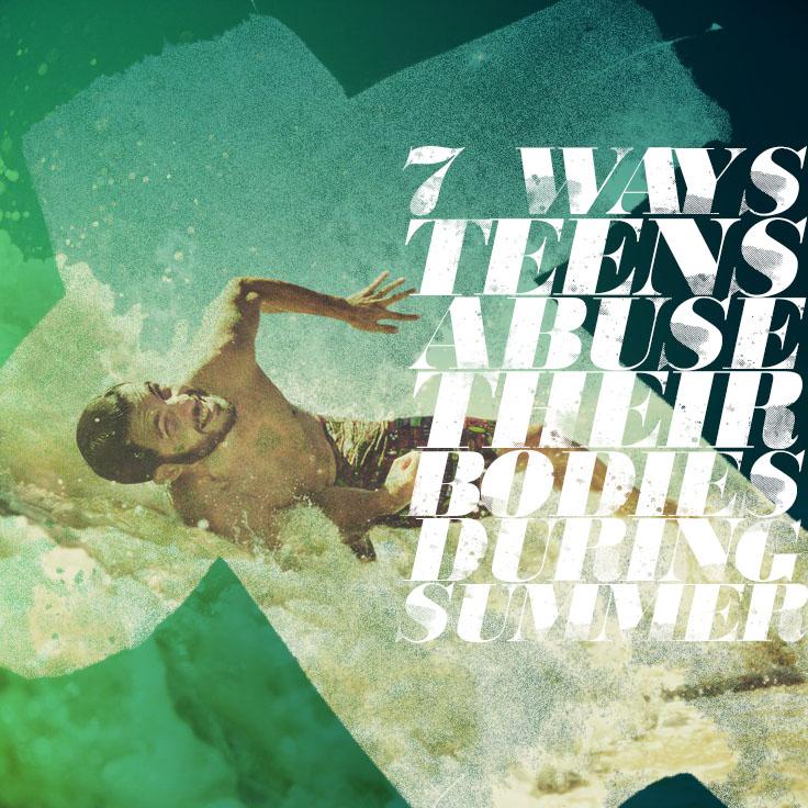 TGP - 7 Ways Teens Abuse Their Bodies