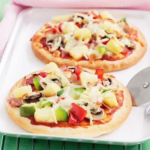 mini pizza supreme