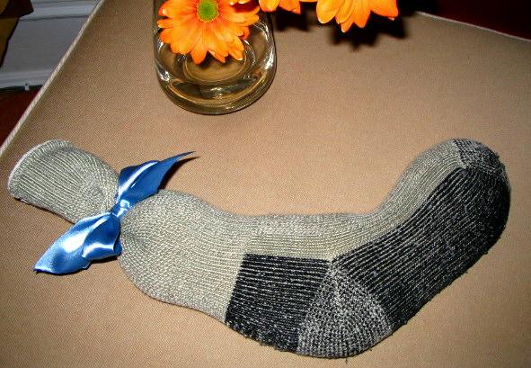 sock frozen